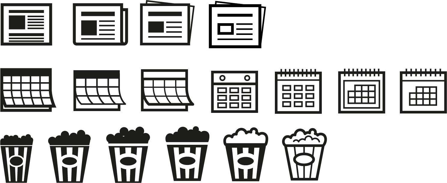 Icons für Cornèrcard Emotions