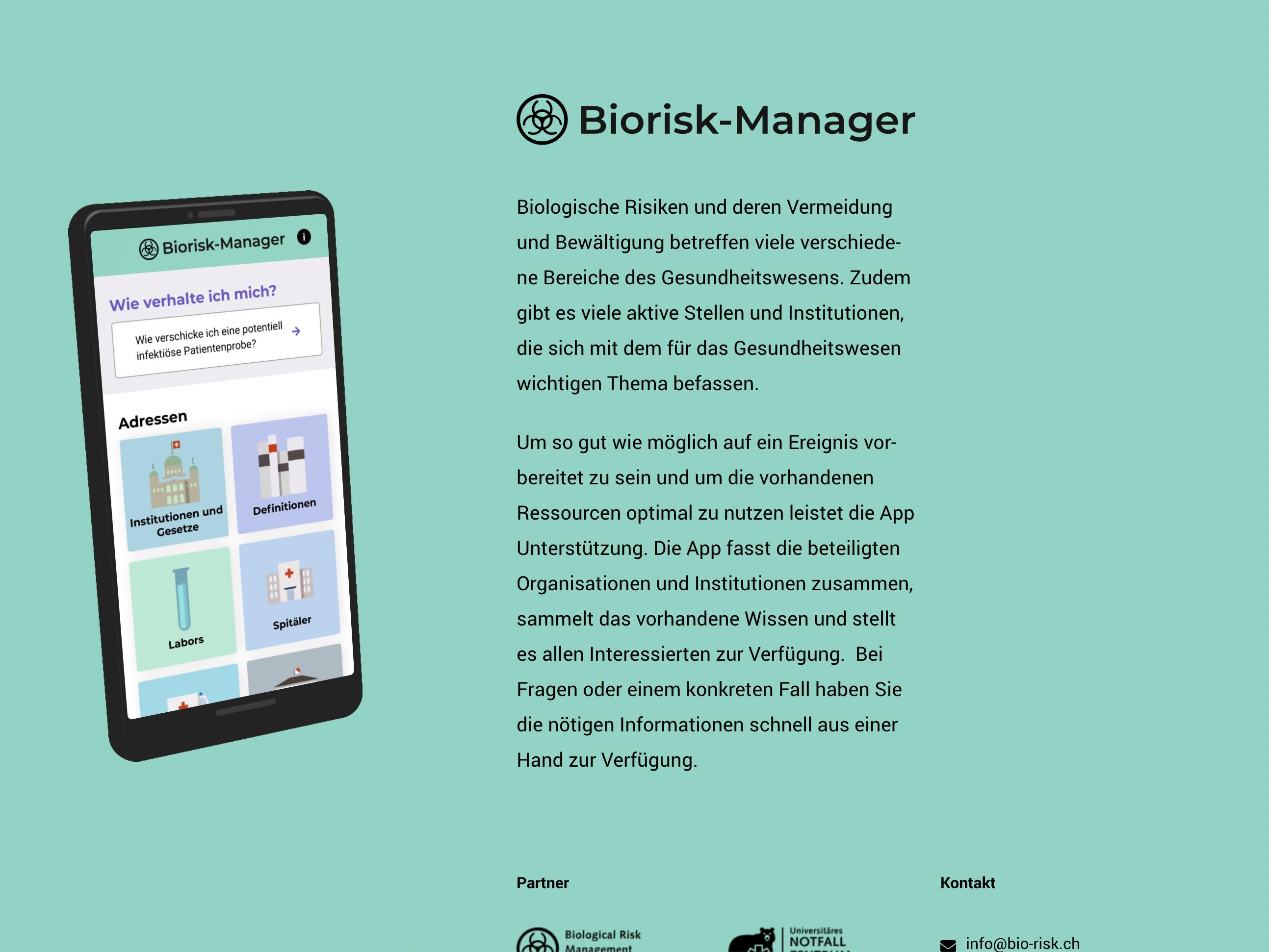 Biorisk Manager