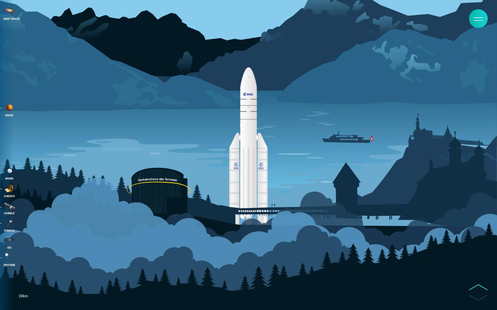 Mission Raumfahrt